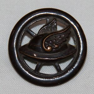 B175. WWI MOTOR TRANSPORT CORPS CUT OUT COLLAR DISK
