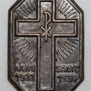 P083. GERMAN ITALIAN 1933-34 ANNO SANTO TINNIE