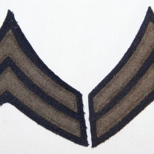 G131. WWII CORPORAL CHEVRONS