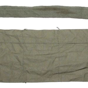 T166. VIETNAM 1969 DATED 5.56MM CLOTH BANDOLEER WITH SAFETY PIN