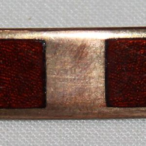 T172. PRE VIETNAM WARRANT OFFICER PIN BACK GOLD FILLED RANK INSIGNIA
