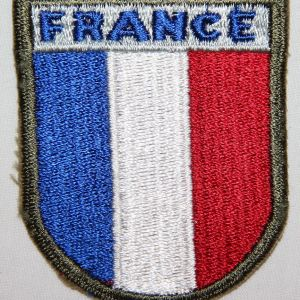 G141. WWII FRENCH TROOPS IN AMERICA PATCH