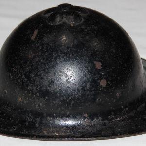 C055. WWII CHINESE NATIONALIST PLUM BLOSSOM COMBAT HELMET