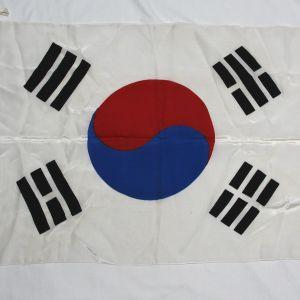 S087. NICE KOREAN WAR ERA SOUTH KOREAN FLAG