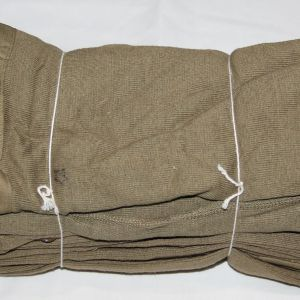 D081. UNISSUED WWII FACTORY BUNDLE OF 5 1943 DATED WINTER LONG UNDERWEAR