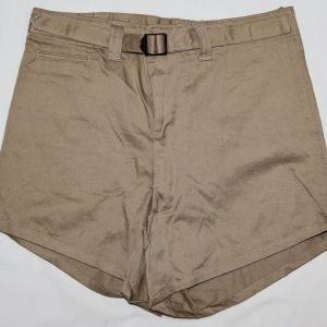 D084. WWII KHAKI COTTON ATHLETIC SHORTS