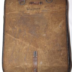 M056. NAMED WWII GERMAN 1940 DATED M34 BACKPACK