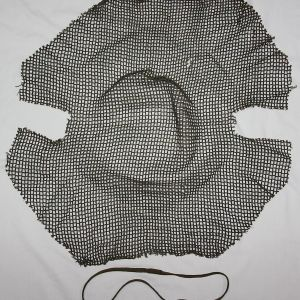 C069. WWII M1944 M1 HELMET CAMOUFLAGE NET WITH BAND