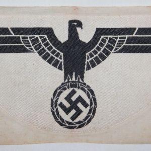 O.124. WWII GERMAN ARMY SPORT SHIRT EAGLE