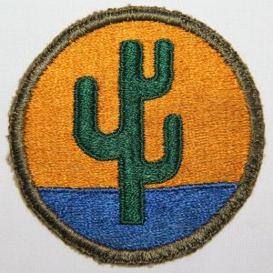 G147. WWII 103RD INFANTRY DIVISION PATCH