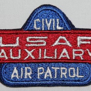 S101. KOREAN WAR ERA CIVIL AIR PATROL USAF AUXILIARY PATCH