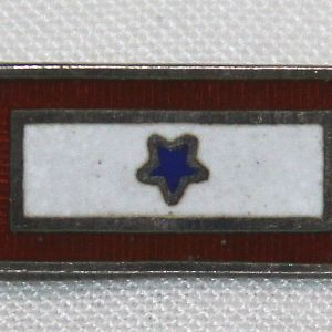 I074. WWII HOME FRONT SON IN SERVICE STERLING LAPEL PIN
