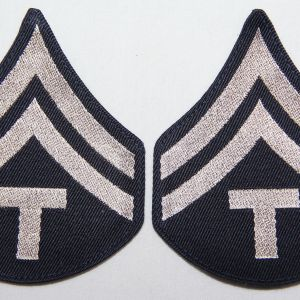 G151. WWII MACHINE WOVEN TECH CORPORAL CHEVRONS