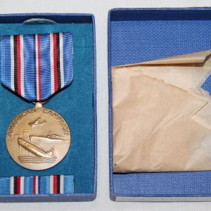 H123. WWII AMERICAN CAMPAIGN MEDAL NEW IN BOX