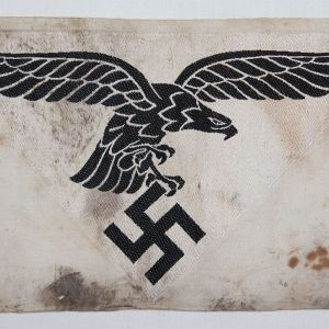 0.129. WWII GERMAN LUFTWAFFE SPORTS SHIRT EAGLE