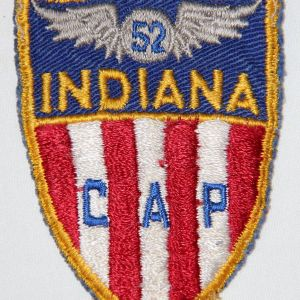 S120. EARLY INDIANA CIVIL AIR PATROL PATCH