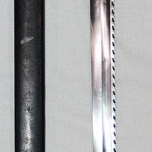 B326. SWISS M1914 SCHMIDT-RUBIN SAWBACK PIONEER BAYONET