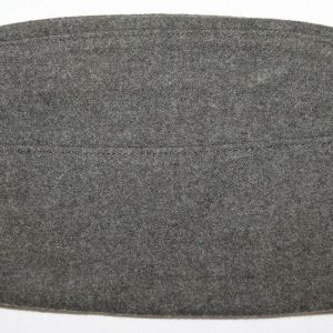 C080. NAMED WWII - KOREA USMC GARRISON CAP WITH EG&A