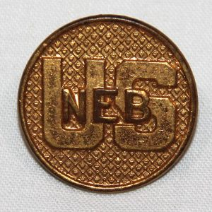 H115. 1920'S NEBRASKA STATE GUARD U.S. COLLAR DISK