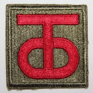 G182. WWII 90TH INFANTRY DIVISION PATCH
