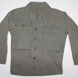 D098. WWII HBT COMBAT FIELD JACKET