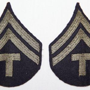 G184. WWII TECHNICIAN 5TH GRADE CHEVRONS