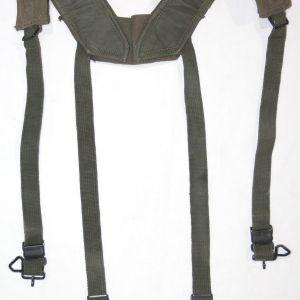 T254. EARLY VIETNAM SIZE LONG M1956 COMBAT SUSPENDERS