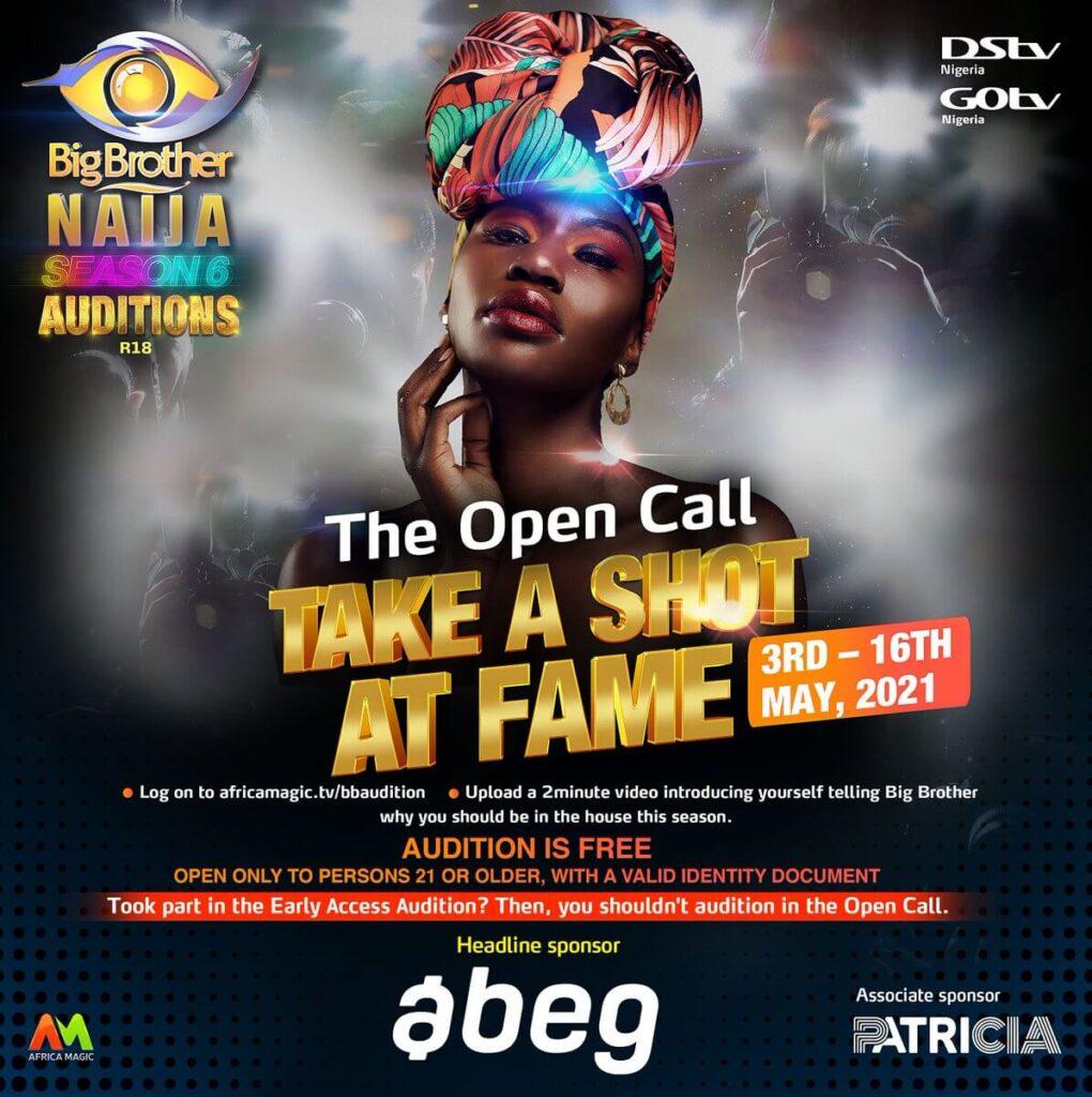 Big Brother Naija 2021 Main Audition