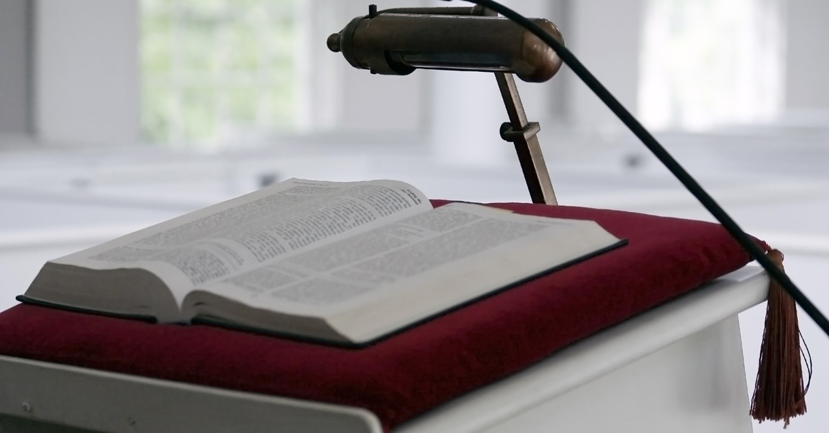 Conference Pulpit - Various Speakers