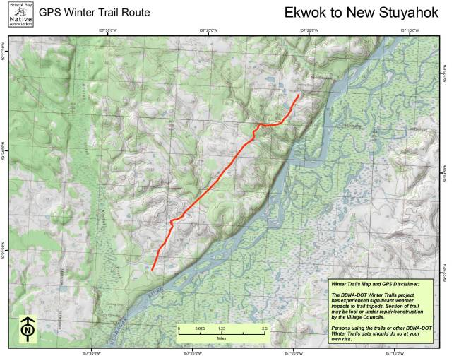Ekwok to New Stuyahok