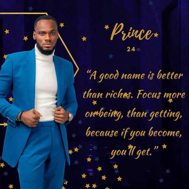 Prince BBNaija