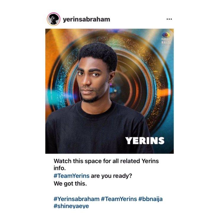 Yerins Names His Fanbase (TeamYerins)
