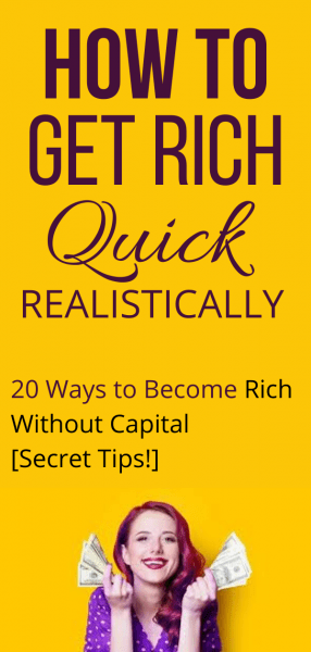 How to Become Rich Without Capital