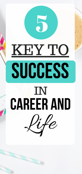 Key to Success in Career and Life