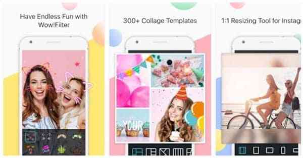 best photo editing apps for selfies