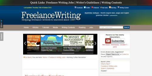 freelance creative writing jobs