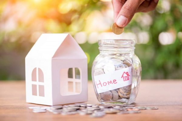 how to save money for a house while renting