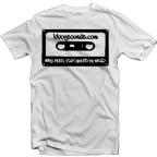 bboy shirt bboysounds logo white 2013