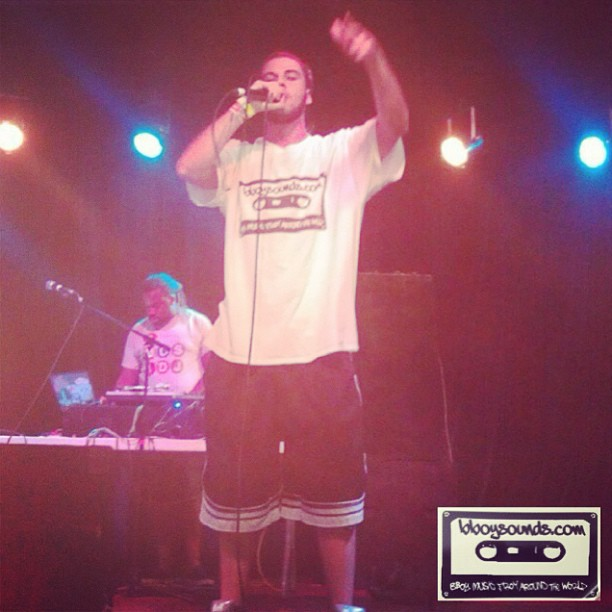 #prossess (dope Florida mc) rocking the #bboysounds #cassette!@ www.bboywear.com