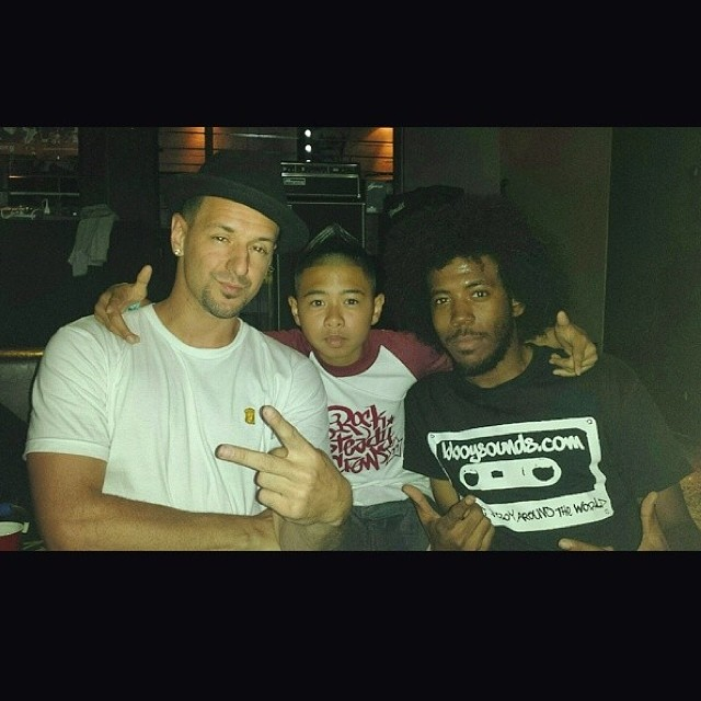 Big up to @bboystatic rocking the Bboysounds in NYC! #repost-Find your own @ Bboywear.com!