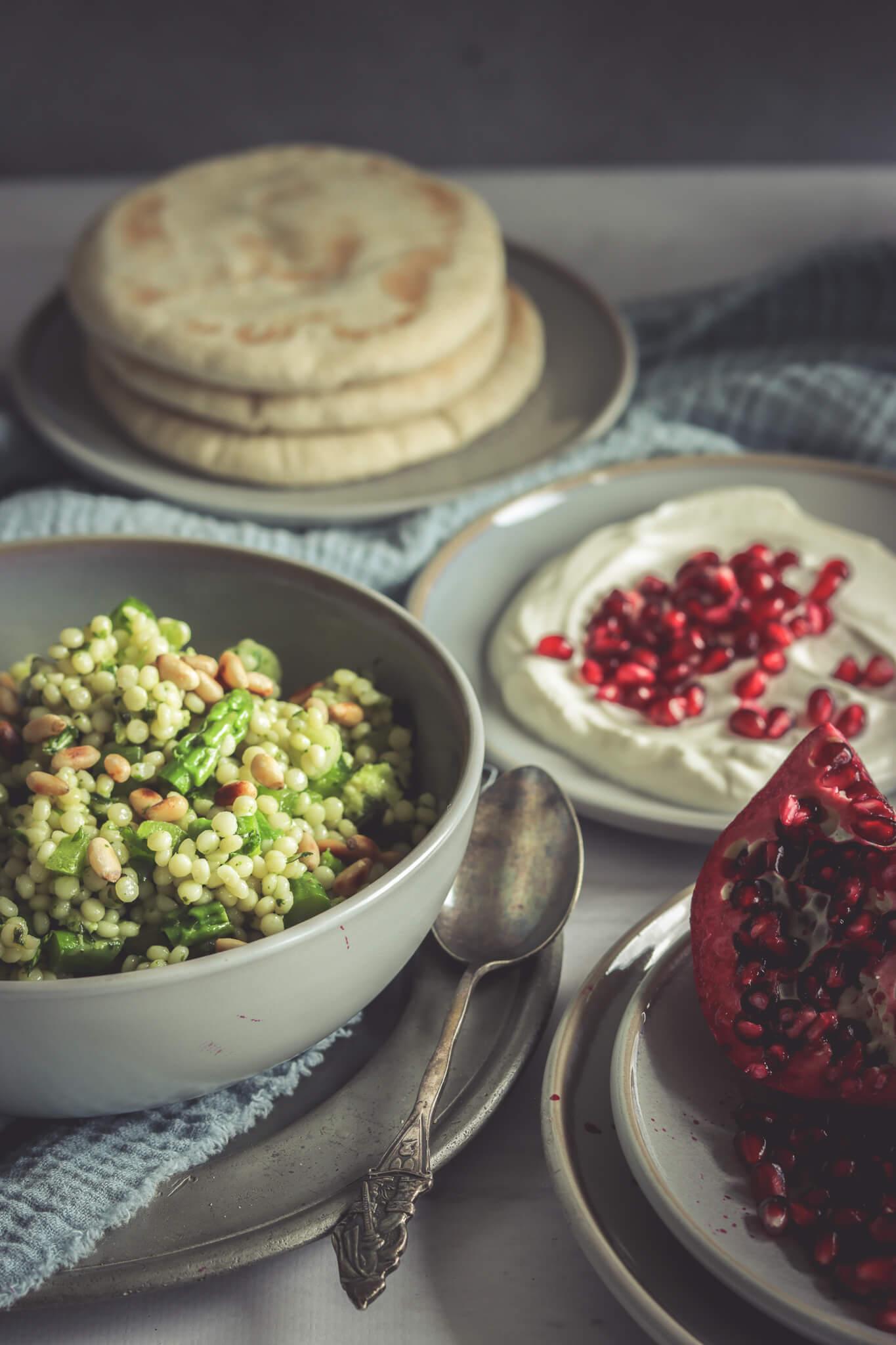 Salade parel couscous voor bij de BBQ