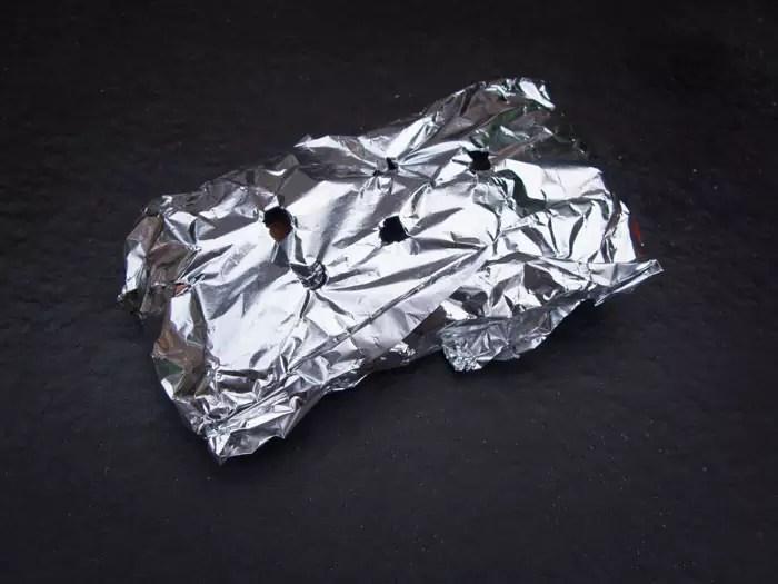 rookpakje-van-aluminiumfolie