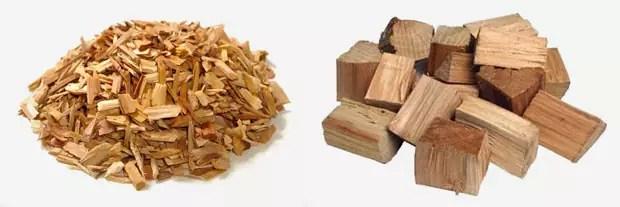 snippers-en-brokken-hout