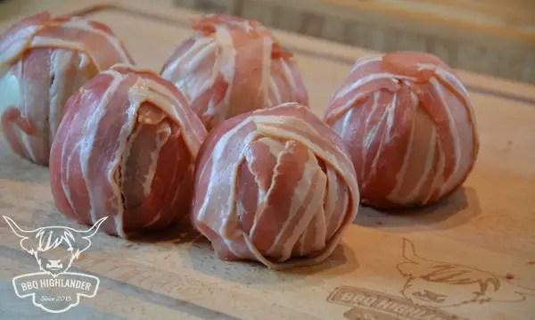 Moink Balls Bacon