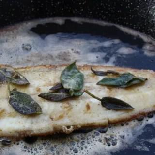 Seezunge vom Grill