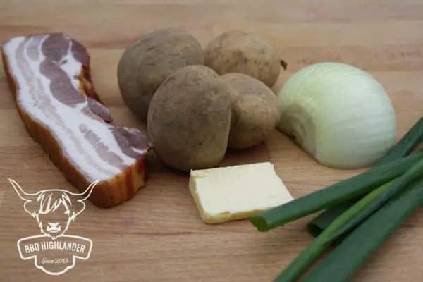 Zutaten für Puttes - rheinischer Topfkuchen