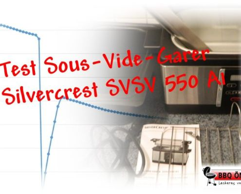 Test Sous Vide Garer Silvercrest Svsv 550 A1 Bbq ömer