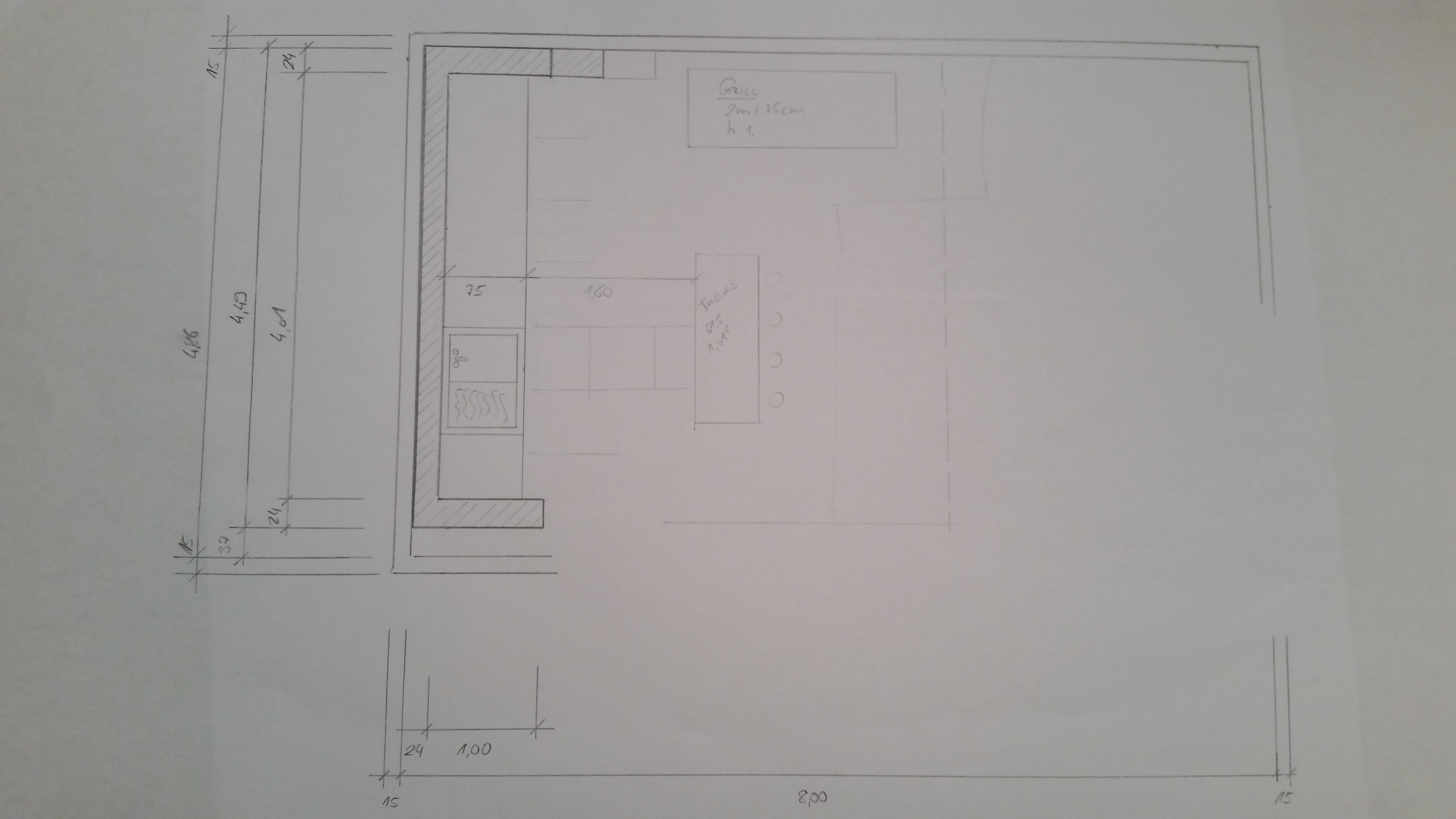 Dach Für Außenküche : Bau meiner grill und bbq außenküche gartenküche teil