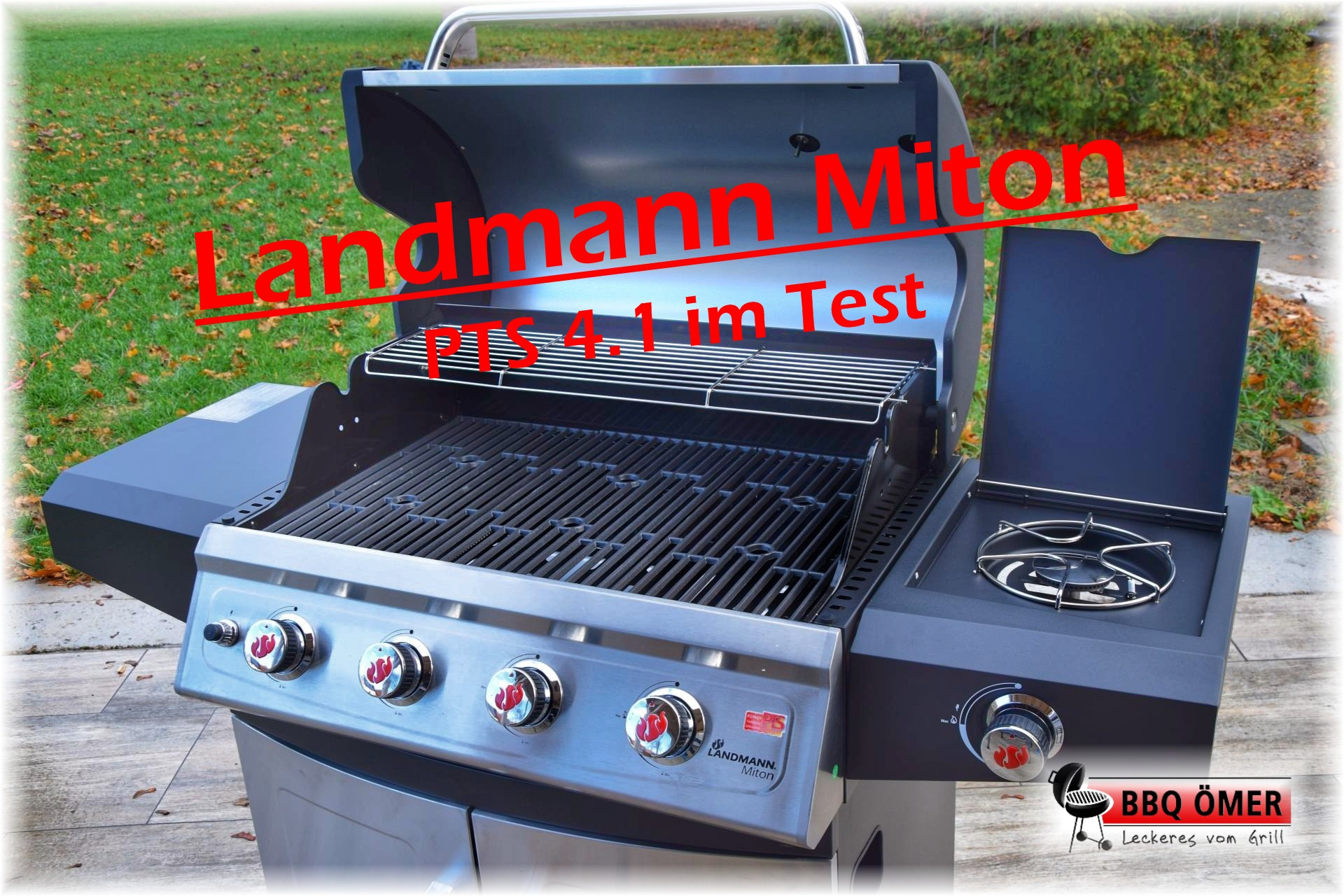 Landmann Gasgrill Deckel : Landmann miton pts 4.1 im test the american way bbq Ömer