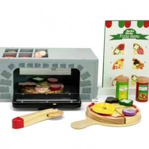 Mamamemo Pizzaoven hout 33 delig